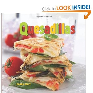 Which quesadilla makers accommodate 10-inch tortillas?